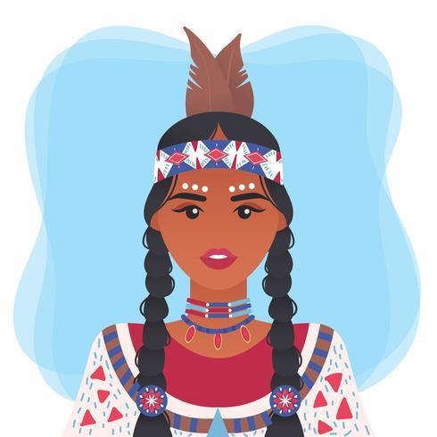 Vecteur des peuples autochtones