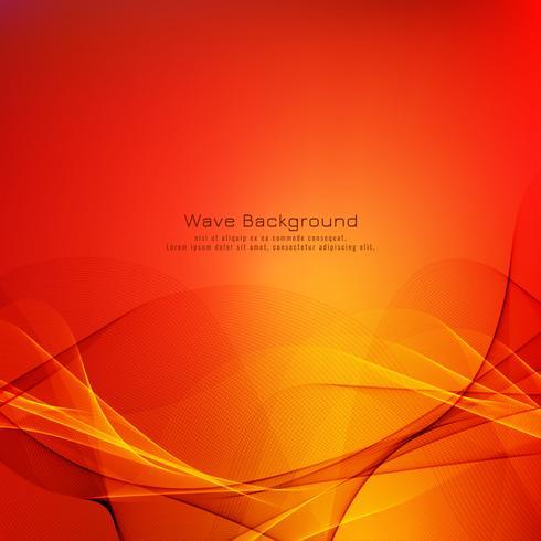 Fond clair vague colorée abstraite vecteur
