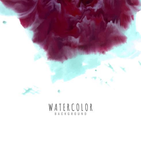 Abstrait aquarelle coloré vecteur