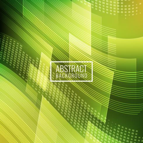 Abstrait géométrique vert vecteur