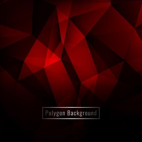 Fond moderne abstrait polygone géométrique coloré vecteur
