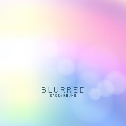Abstrait coloré flou vecteur