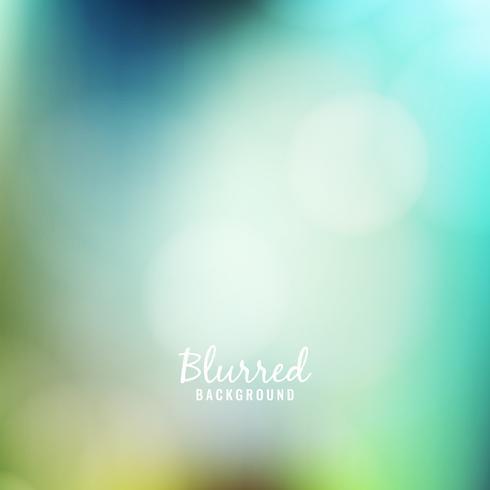 Abstrait coloré élégant flou vecteur