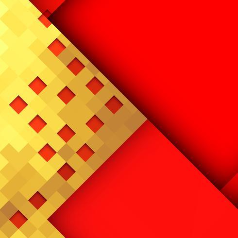 Abstrait design géométrique élégant vecteur