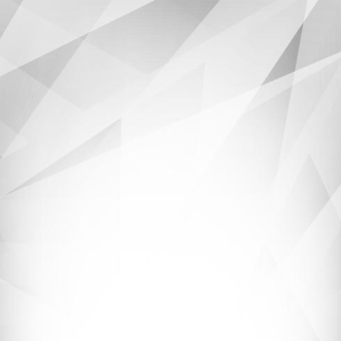 Fond géométrique abstrait polygone gris vecteur