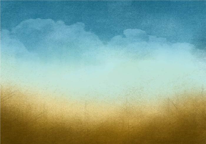 Beau fond de ciel grunge vecteur