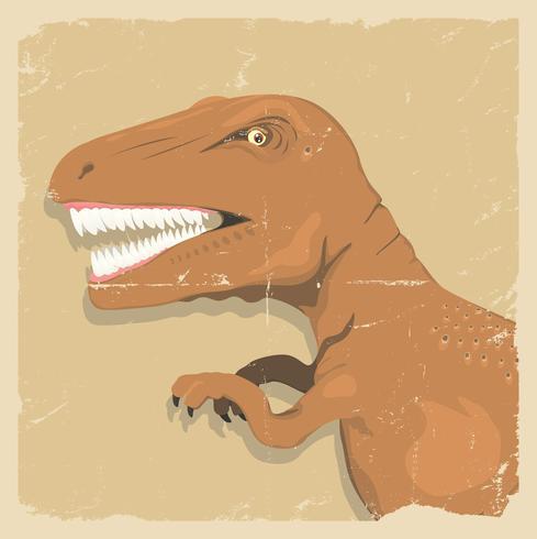 Fond de dinosaure grunge vecteur