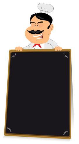 Enseigne de restaurant Blackboard vecteur