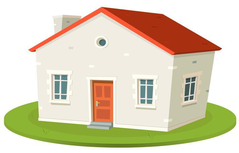 Louer une maison vecteur