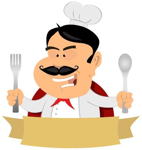 Bannière du Master Chef Français vecteur