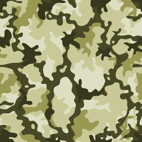 Camouflage militaire sans couture vecteur