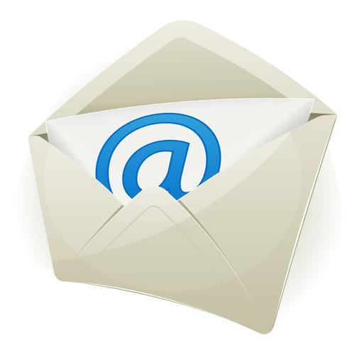 Icône Email vecteur