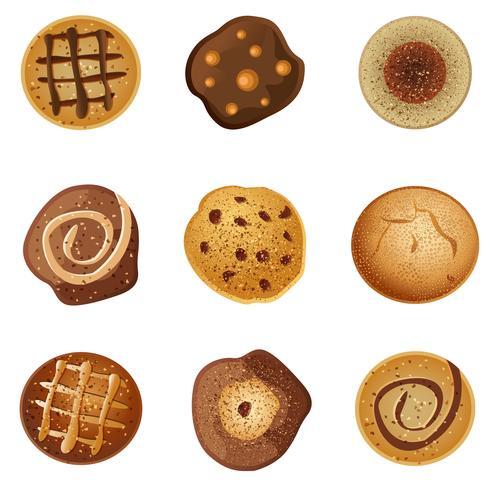 Biscuits vecteur