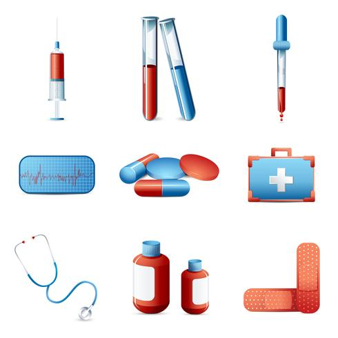 Icône médical vecteur