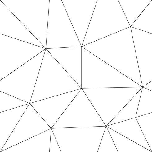 Modèle vectorielle continue, avec des triangles de ligne. vecteur