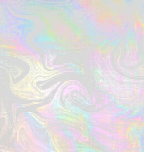 Conception de demi-teinte holographique de vecteur