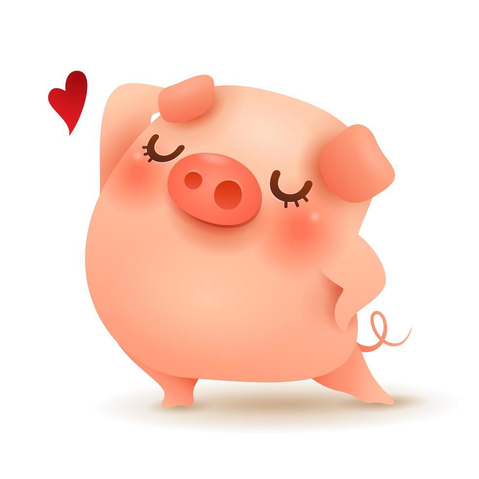 The Pretty Little Pig vecteur