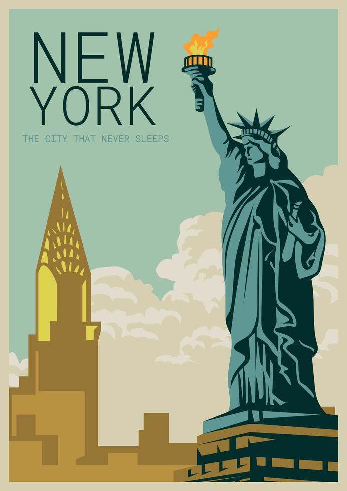 New York vecteur