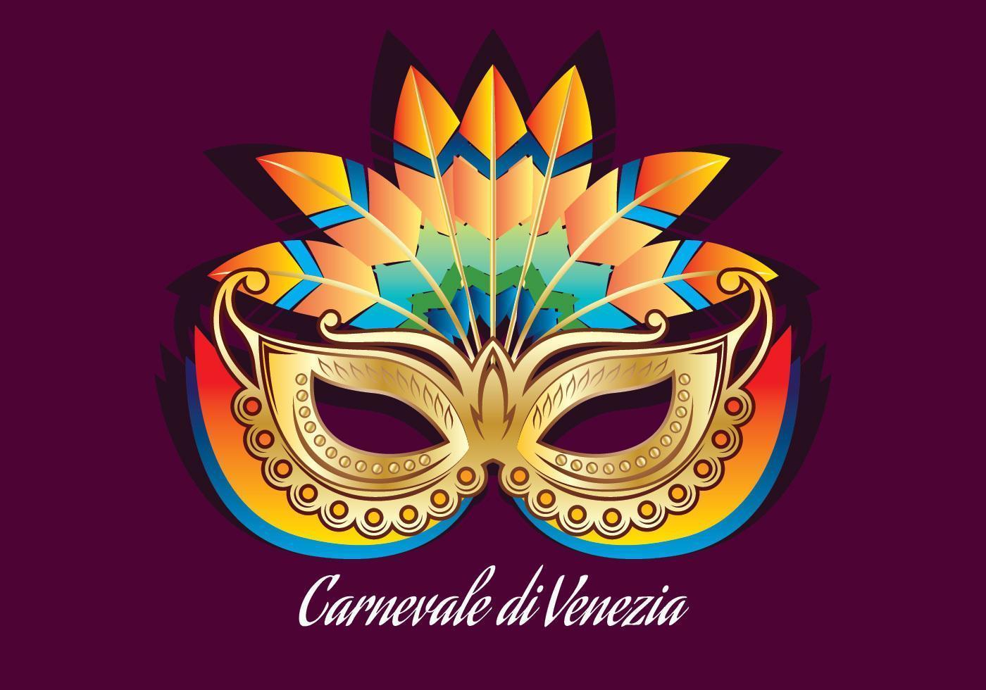 Carnevale Di Venezia Mask vecteur