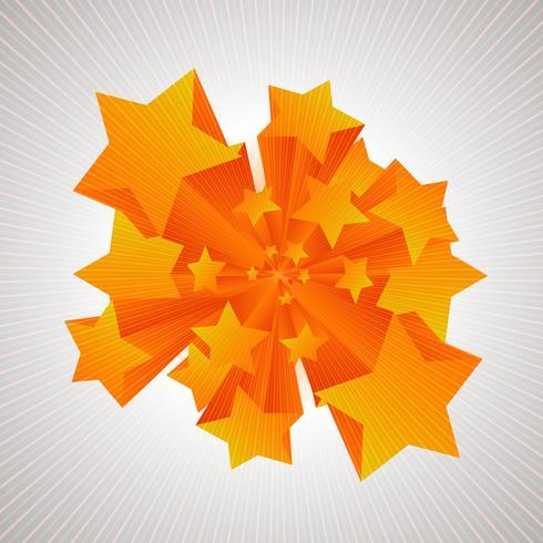 Les étoiles à venir en 3D vecteur