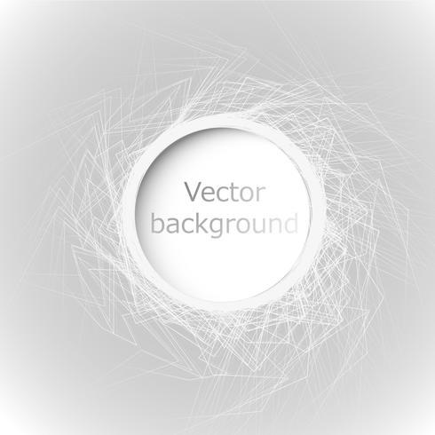 Vecteur de bulle de conception web abstraite