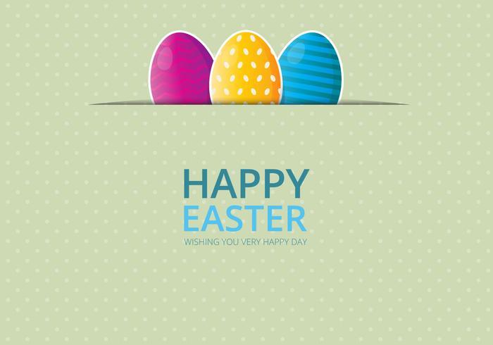 Fond de Pâques. Joyeuses Pâques. vecteur