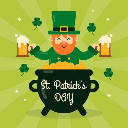 St Patrick's Day Background vecteur