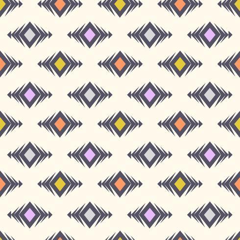 Modèle sans couture tribal de vecteur. Boho moderne texture élégante vecteur