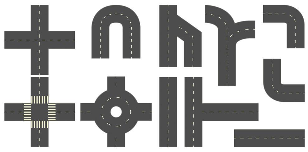 Routes vecteur