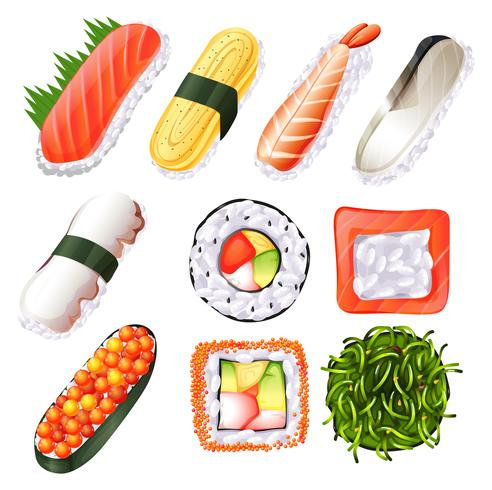 Sushi vecteur