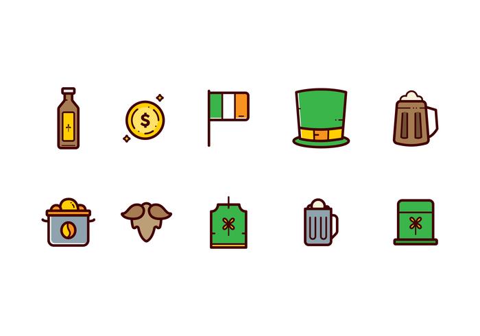 St.Patrick's Clipart Vecteur