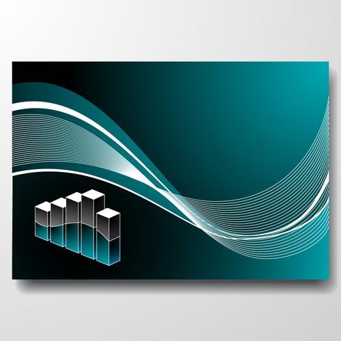 vecteur infographie 3d graphique