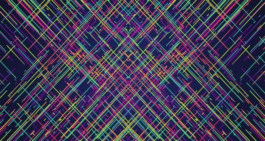 Fond de rayures colorées, illustration vectorielle vecteur