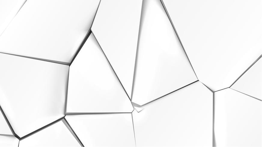 Surface grise cassée, illustration vectorielle vecteur