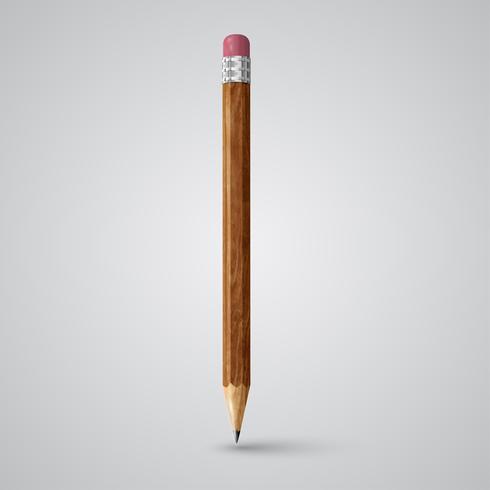 Crayon coloré, vecteur