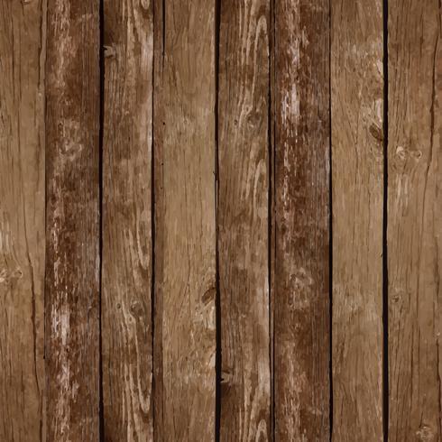 Fond de planche de bois de vecteur