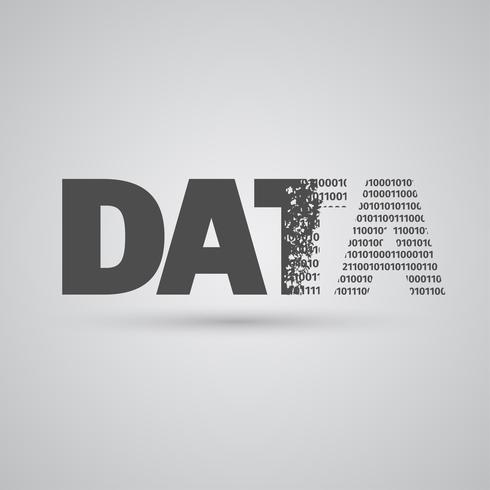 Signe de données, vector