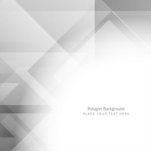 Fond de polygone géométrique moderne vecteur