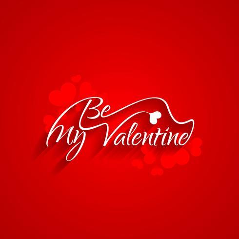 Fond moderne Happy Valentine's Day vecteur