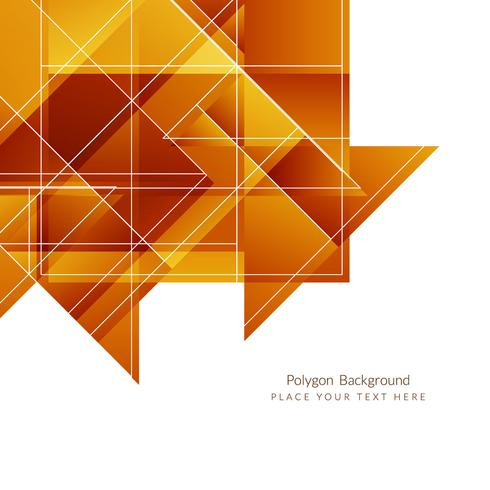 Fond polygonale géométrique moderne vecteur
