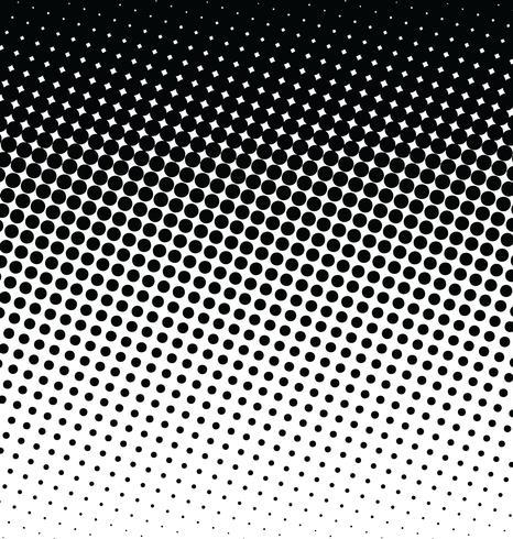 Effet de demi-teintes de fond abstrait vecteur en pointillés
