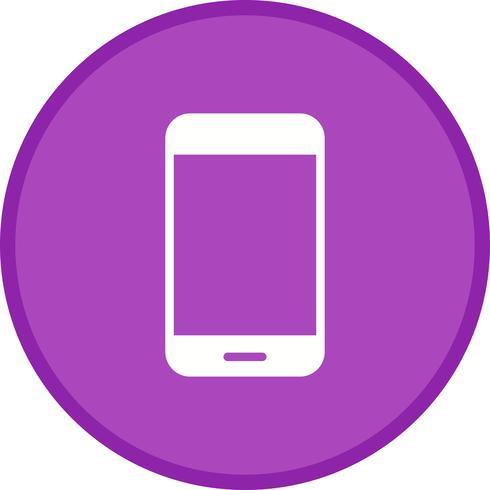 smartphone glyphe rond cercle multi couleur vecteur