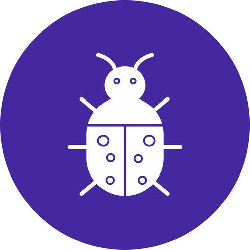 icône de bogue de vecteur