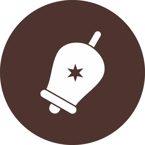 icône de cloche de vecteur