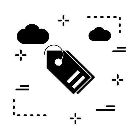 icône de balises vectorielles vecteur