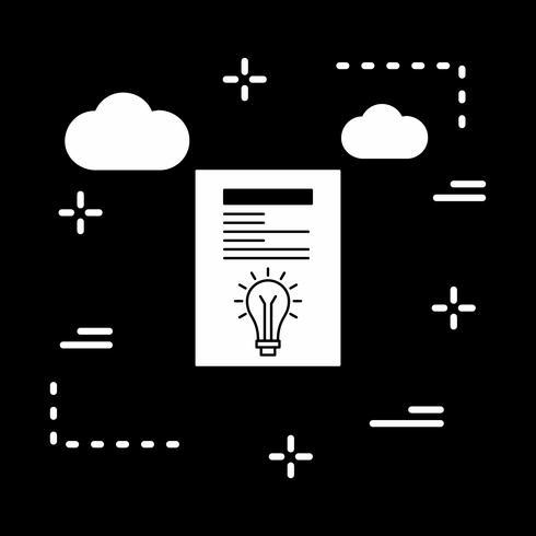 icône créative de vecteur