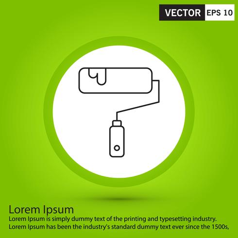 Parfait icône noire, illustration de vecteur ou pictogramme sur fond vert.
