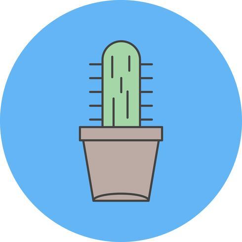 icône de plante vecteur catcus