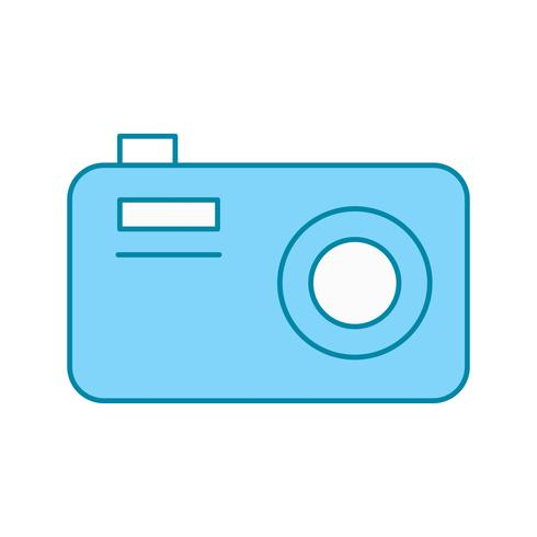 icône de caméra vectorielle vecteur