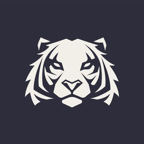 Tigre mascotte Vector Icon